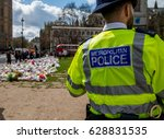 london  uk. 1st april 2017.... | Shutterstock . vector #628831535