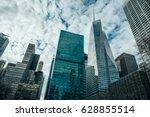 beautiful top view of big...   Shutterstock . vector #628855514