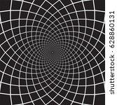 vector radial flower graphic | Shutterstock .eps vector #628860131