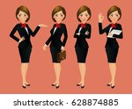 elegant people businesswoman | Shutterstock .eps vector #628874885