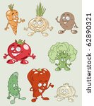 vector illustration of colorful ...   Shutterstock .eps vector #62890321