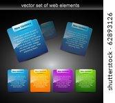 website elements design... | Shutterstock .eps vector #62893126