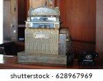 vintage calculators | Shutterstock . vector #628967969