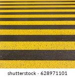 yellow road marking   Shutterstock . vector #628971101