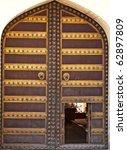 ancient art work door in india | Shutterstock . vector #62897809
