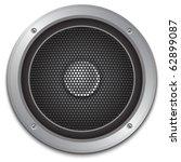 audio speaker icon  vector | Shutterstock .eps vector #62899087