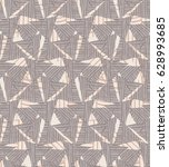 triangles striped with gray...   Shutterstock .eps vector #628993685