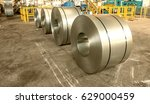 cold rolled steel coils in...   Shutterstock . vector #629000459