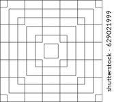 vector pattern of intersecting... | Shutterstock .eps vector #629021999