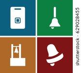 jingle icons set. set of 4... | Shutterstock .eps vector #629028455