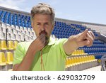 people  sport and soccer... | Shutterstock . vector #629032709
