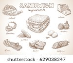 sandwich with ingredients free...
