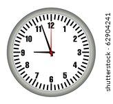 office clock | Shutterstock .eps vector #62904241