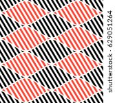 seamless vector abstract... | Shutterstock .eps vector #629051264