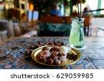 arabic sweets   Shutterstock . vector #629059985