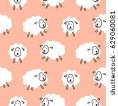 Baby Sheep Girlish Cute...