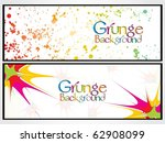 colorful grunge background ... | Shutterstock .eps vector #62908099