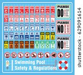 set of labels and signs of... | Shutterstock .eps vector #629091614