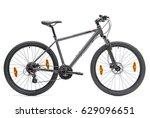 isolated mountain bike  | Shutterstock . vector #629096651