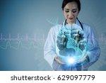 neuroscience concept. human... | Shutterstock . vector #629097779