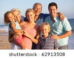 portrait of three generation... | Shutterstock . vector #62913508