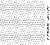 triangular vector grid  modern... | Shutterstock .eps vector #629146994