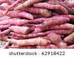 sweet potato - stock photo