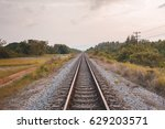 railway | Shutterstock . vector #629203571