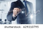 new technologies for business . ... | Shutterstock . vector #629210795