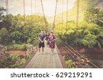 surat thani  thailand   april... | Shutterstock . vector #629219291