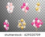 bunches and groups of colorful... | Shutterstock .eps vector #629320709