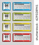 banner presentation  vector... | Shutterstock .eps vector #629328941