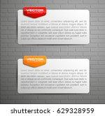 banner presentation  vector... | Shutterstock .eps vector #629328959