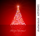 christmas card | Shutterstock . vector #62933431