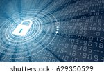 background with lock 2 | Shutterstock .eps vector #629350529