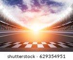 track arena 3d rendering  | Shutterstock . vector #629354951