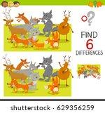 cartoon illustration of spot... | Shutterstock . vector #629356259