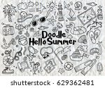 hand drawn vector illustration... | Shutterstock .eps vector #629362481