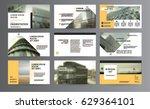 original presentation templates ... | Shutterstock .eps vector #629364101