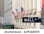 new york city   june 25  wall...   Shutterstock . vector #629368055