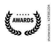film award for the best film in ... | Shutterstock .eps vector #629381204