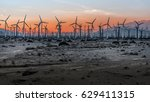 windmills   Shutterstock . vector #629411315