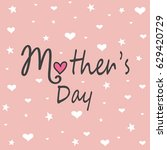 mother's day | Shutterstock .eps vector #629420729
