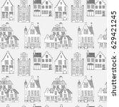 vector illustration of house... | Shutterstock .eps vector #629421245