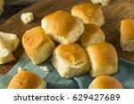 homemade baked sweet hawaiian... | Shutterstock . vector #629427689