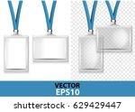two badges  identification on...   Shutterstock .eps vector #629429447