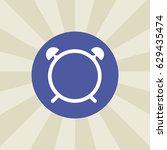 alarmclock icon. sign design....