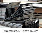 metal sheet bending | Shutterstock . vector #629446889