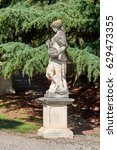 Small photo of Italy. San Remo. Nobel Park. Statue of the Allegory of Geography
