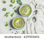 Spring Detox Broccoli Green...